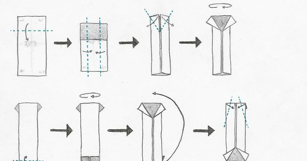 how to fold origami shirt and origami tie