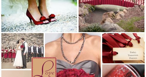 Red Wedding Theme Color Combination Ideas — Wedding Ideas, Wedding Trends, and