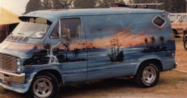 Love A Bit Of Airbrush Camionnette Vans Personnalises Camion