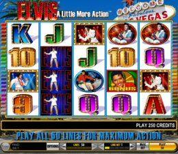 Free 5 No Deposit Bonus Why Not Try Elvis A Little More Action Video Slot At Paddy Power Casino Playtech Igt Uk Free Online Slots Casino Casino Card Game