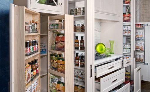 Kitchen white kitchen cabinet storage design ideas the for Cheap kitchen organization ideas