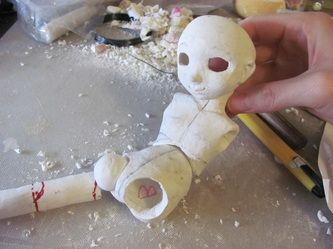 How To Make A Ball Jointed Doll Mangaka Resource Ball Jointed