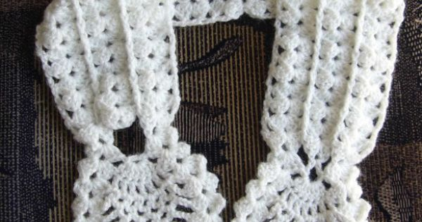 crochetkari  crochet pineapple neck warmer