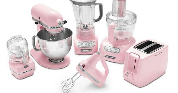 Kitchenaid think pink pinterest kitchenaid kitchens and kitchen stuff - Pink kitchenaid accessories ...