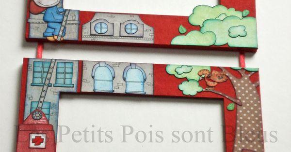 Cadre photo personnalis d coration cowboy d coration - Decoration murale chambre bebe garcon ...