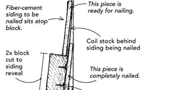 Installing Fiber Cement Siding Solo Fine Homebuilding