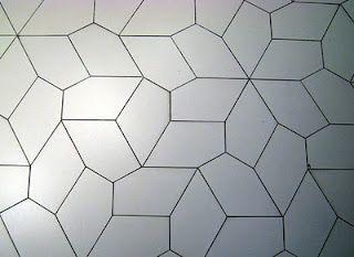 A Tessellation With An Irregular Pentagon Pentagon Flooring Wall Deco