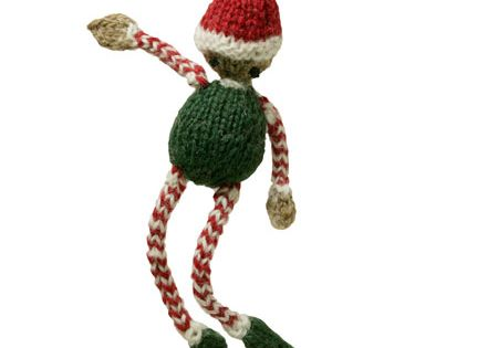 Elf Knitting Hearts : Holiday elf pattern knitting patterns and crochet