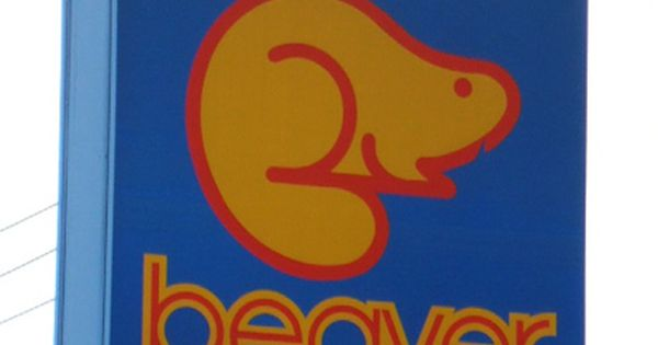 beaver gas stationjpg logos pinterest animal logo