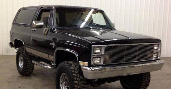 1984 Chevrolet K5 Blazer Arizona Truck 4x4 S