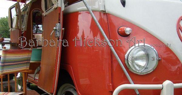 Ruedas de carreras americanas vintage vw bus