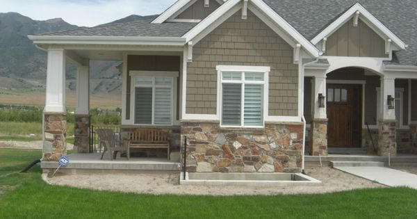 Decorative Stone Siding For Homes : Siding color stone decorative moulding home exterior