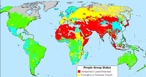 Map of unreached people groups prayer room ideas for 10 40 window joshua project