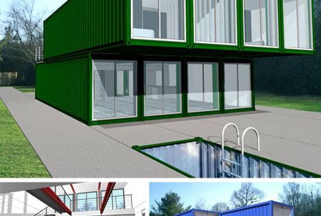 Lot ek is always on the cutting edge of strange and interesting architectural designs so it is - Lot ek container home kit ...
