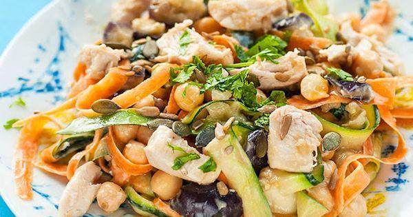 Tahini dressing, Tahini and Chicken salads on Pinterest