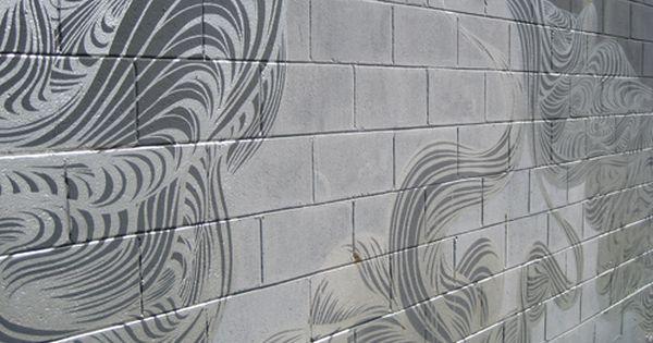Painted Cinder Block Concrete Block Walls Cinder Block Walls Painting Concrete Walls