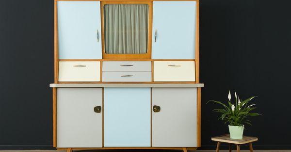 60er sideboard 50er kommode vintage mid century. Black Bedroom Furniture Sets. Home Design Ideas