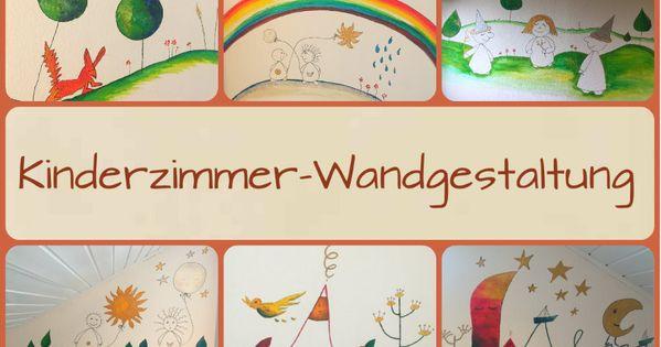 wir zeigen euch unsere kinderzimmer und ihre wandgestaltung für ... - Wandgestaltung Kinderzimmer