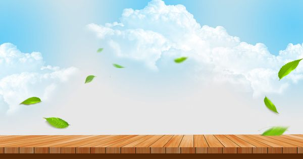 Art Sky Clouds Green Leaves Float Board Tea Food Poster Banner Simple Sun Summer Cloudscape Heaven Light Sunlight Climate Clear Air Weather Cloudy Cloud B Grafis