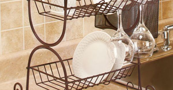 Wrought Iron Dish Rack 13 95 Each Gift Ideas