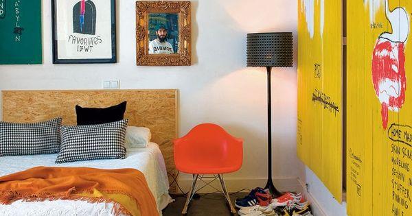 utiliser l 39 osb pour t te de lit et sommier chambre pinterest l phants. Black Bedroom Furniture Sets. Home Design Ideas