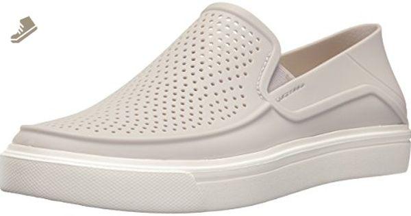 Citilane Slip-on Sneaker, Sneakers Basses Femme - Multicolore (Leopard/Black 95K), 38/39 EUCrocs
