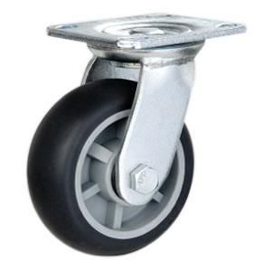 Swivel Dolly Caster Wheels Wheel Material Pp Core With Tpr Wheel Size O100mm X 45mm O125mm X 45mm Casters Wheels Industrial Caster Wheels Industrial Casters