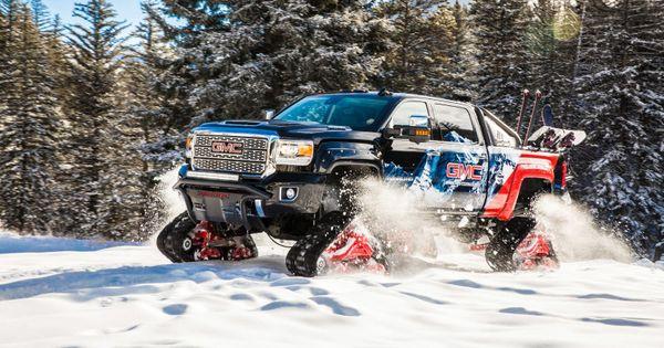 2018 Gmc Sierra 2500hd All Mountain Concept Is A Snow Ready Truck Gmc Sierra Gmc Sierra Denali Gmc Sierra 2500hd