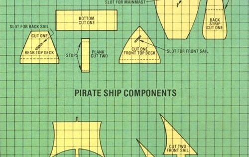 Natural health blog mother earth news healthy living for Cardboard pirate ship template