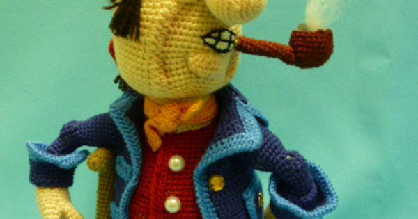 Crochet Pattern Popeye Doll : http://cs2.livemaster.ru Crochet - Amigurumi - People ...