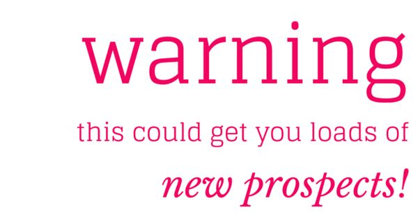 Warning This Could Get You Loads Of New Prospects Insurance Marketing Life Insurance Agent Life Insurance Quotes