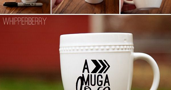 Whipperberry: Sharpie Art Gift Set // Mug A Love Hot Chocolate