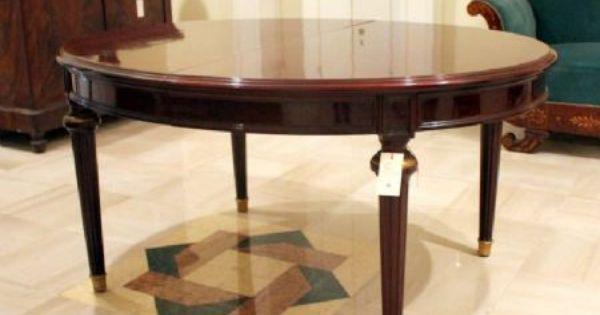 Tavolo Da Pranzo Ovale Allungabile Antiquariato Su Anticoantico Mobili Tavoli Da Pranzo Ovali Tavoli Da Pranzo