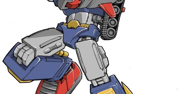 Voltes V Cartoon Characters : My favorite bots no via donfig on deviantart geeky