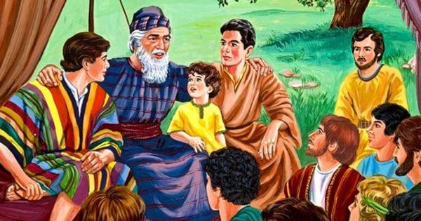 Los Hijos De Jacob Y Las 12 Tribus De Israel Chistes Cristianos