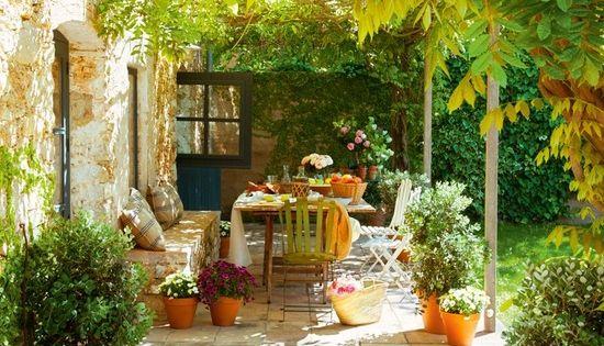 a l 39 ombre de la glycine ma terrasse mon jardin pinterest jardins vivre dehors et maison. Black Bedroom Furniture Sets. Home Design Ideas