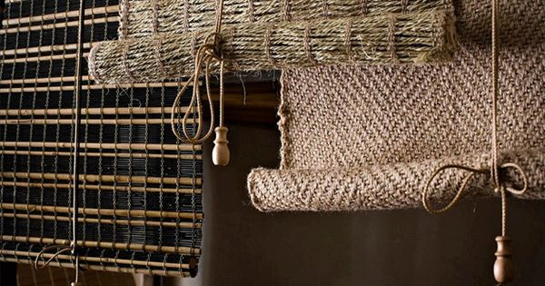 Persianas rusticas estores y cortinas decoracion en for Cortinas rusticas