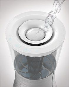 Dual Humidifier Air Purifier Red Dot Design Award For Design Concepts Air Purifier Design Red Dot Design Air Purifier