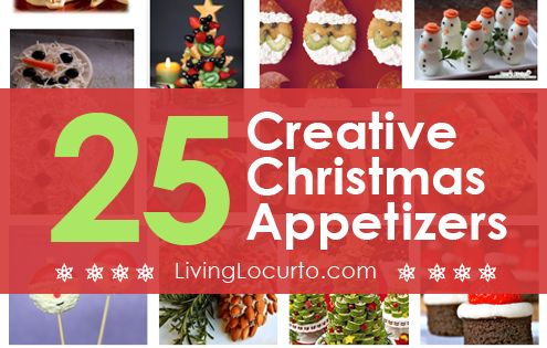 Holiday Party Foods and Appetizers | 25 Amazing Christmas Party Appetizer Recipes!