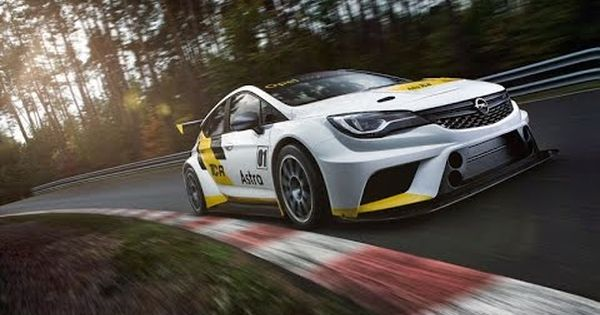 New Opel Astra Tcr Race Car With 330 Hp Qhd Opel Race Cars Racing