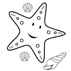 Top 15 Free Printable Sea Animals Coloring Pages Online Animal Coloring Pages Starfish Colors Cartoon Starfish