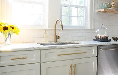 Pendant Lights And Sconces Gold Kitchen White Shaker