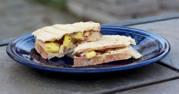 Chicken Paninis with Pineapple Black Bean Salsa | My kind of food ...