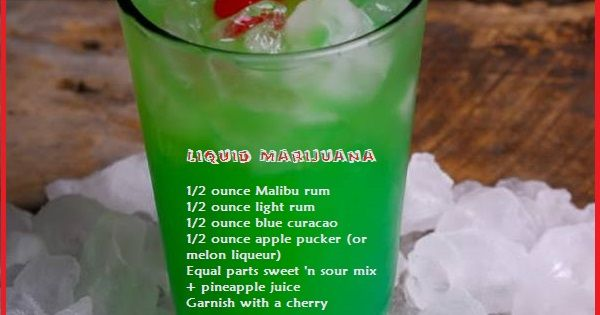 Blue Valium Drink Recipe Sour Mix Grinch Drink And