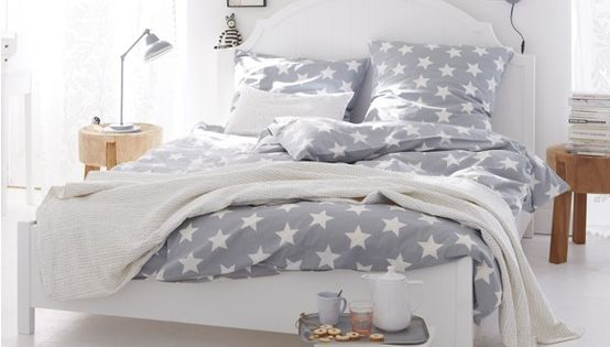 Bedroom:White Wall Paint Grey Star Bedding Bedroom Luxury Bedside Furniture Ideas Sets