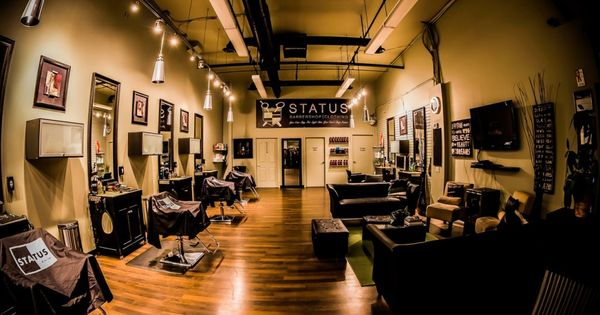 barber shop with a nice layout best looking barber shops pinterest shops barber shop and. Black Bedroom Furniture Sets. Home Design Ideas