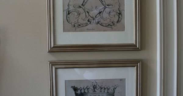 Wall Art Home Hardware : Print your own vintage wall art great site for knock off