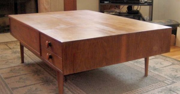 Coffee table by drexel 45 craigslist pinterest Craigslist coffee tables