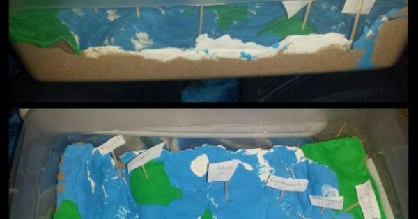 Ocean Floor 5th grade project!!!! | projects | Pinterest ...
