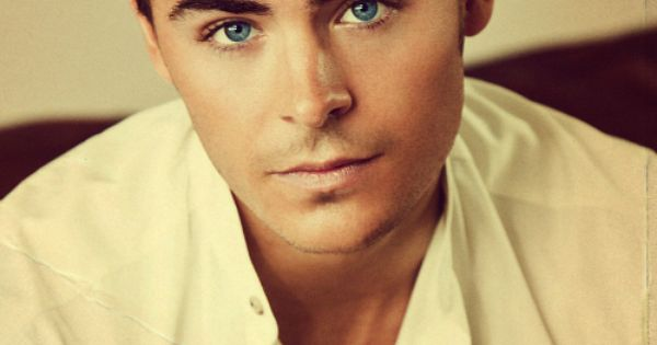 Why hello there blue eyes zacefron